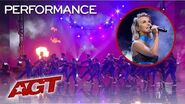 "Julianne Hough Delivers The WORLD PREMIERE of Her New Single ""Transform"" - America's Got Talent 2019"