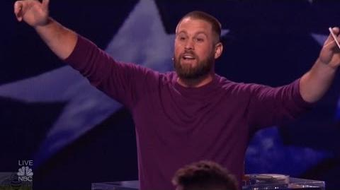 America's Got Talent 2016 Semi-Finals Magician John Dorenbos Philadelphia Eagles S11E18