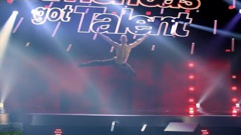 America's Got Talent 2017 Rory Freeman High Flying Free Dancer Full Judge Cuts Clip S11E08