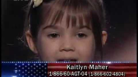 Kaitlyn Maher - America's Got Talent - Top 40