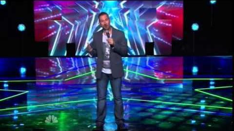 America's Got Talent 2014 Joe Matarese New York Week Day 1