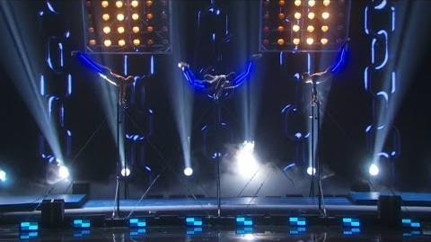America's Got Talent 2015 S10E15 Live Shows - Showproject Gymnasts