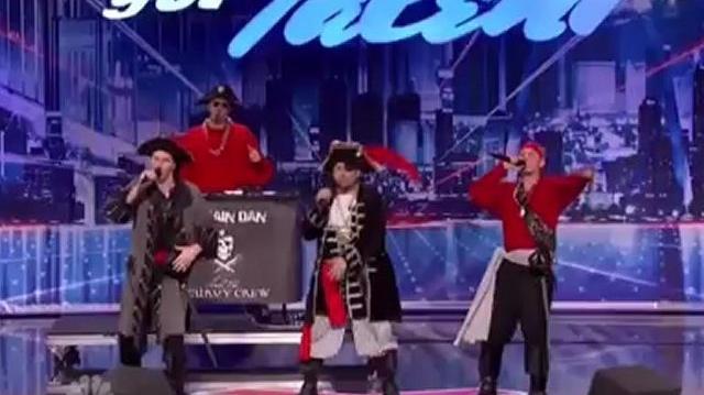 Captain Dan & The Scurvy Crew ~ America's Got Talent 2012