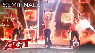 "Sexiest Acrobats On AGT?! Messoudi Brothers Perform To ""Pony"" by Ginuwine - America's Got Talent"