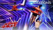 BAD Salsa from India Delivers Dance Unlike ANYTHING You've Seen! - America's Got Talent 2020