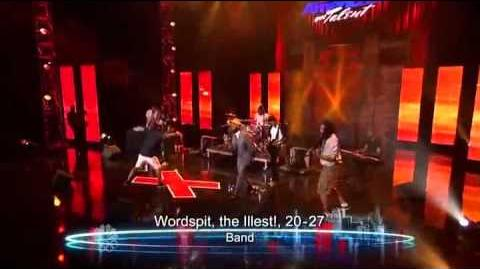 Wordspit, The Illest! - Band - Vegas Round - America's Got Talent 2012