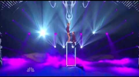 Duo Resonance - America's Got Talent 2013 Season 8 - The Semi-Finals FULL