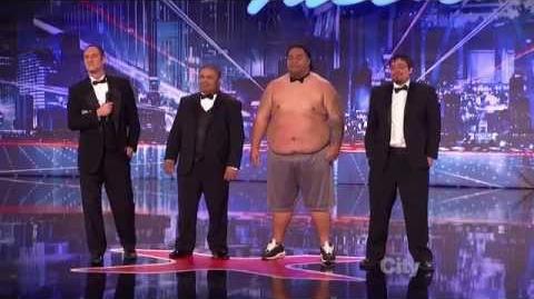 Tummy Talk - America's Got Talent 2013 Season 8 Week 6 Auditions