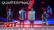"Beatboxers Berywam Perform EPIC ""Old Down Road"" And ""O Fortuna"" Remix - America's Got Talent 2019"