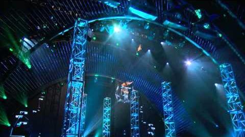America's Got Talent S09E16 Quarterfinal Round 4 Jonatan Riquelme Extreme Rola Bola