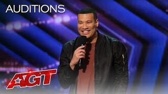 Michael Yo Gets the Audience Rolling With Jokes About Getting Older - America's Got Talent 2020-0