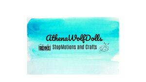 AthenaWolfDolls art