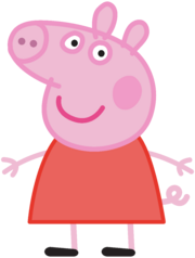 Peppa Pig Transparent PNG Image