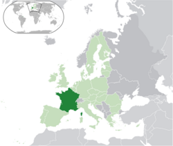 Metropolitan France within the European Union