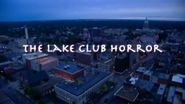 Lake Club Horror Title Card