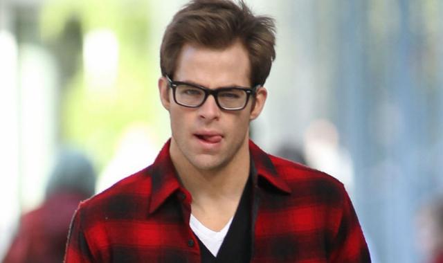 Chris pine movie blind dating cast