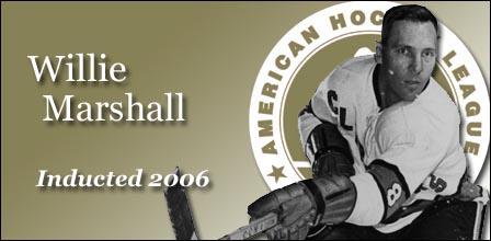 Willie Marshall American Hockey League Wiki Fandom Powered By Wikia