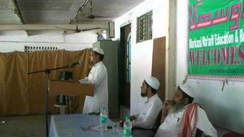 Urdu Speech on Hazrat Imam Mehdi aur Unka Lashkar by Maulana Mohammad Shahid Qasmi