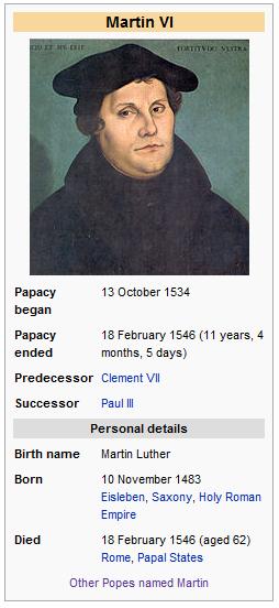 Pope Martin
