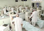Sala de hemodiálise