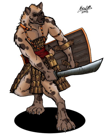File:Gnoll Warrior ALTERNATE.png