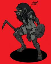 Orc Ozcura warrior