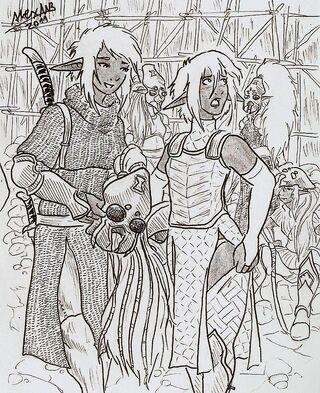 Black widow mercenaries by shabazik-d3cs4oe