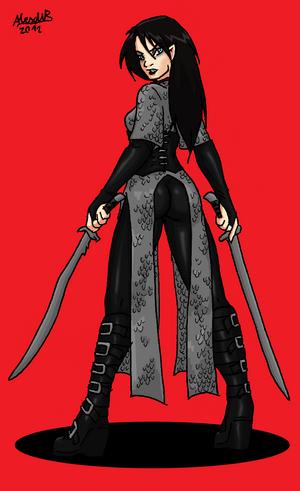 Vampire blade dancer by shabazik-d5mm9n0