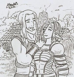 Father and daughter by shabazik-d3hg8yi