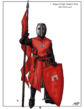 Aels - Sargonic Knight of the XXV century