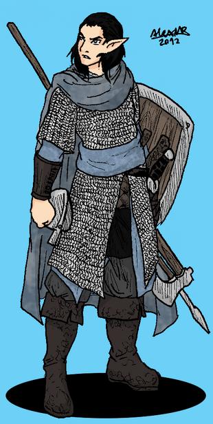 Grey elf moonguard by shabazik-d5ot131