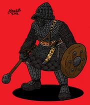 Orc Kaiehm warrior