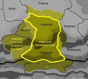 Map - Mondwargh