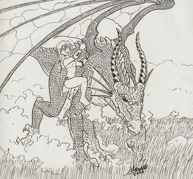 Wait for me dragon father by shabazik-d36f7h8