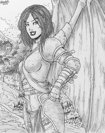Walt-Martsers - Laisha, Queen of Skallgard