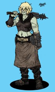 Orc Schlobohmi warrior