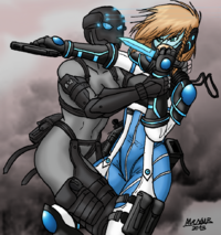 Afra and shik special forces by shabazik-d66xqso