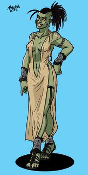 Orc Galaw Princess