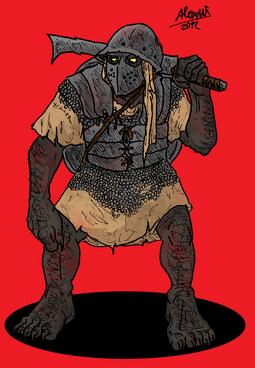 Orc Kokto swordorc