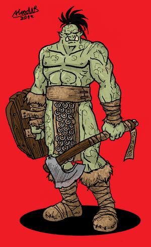 Orc Antorian warrior