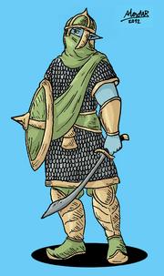 Elf Desertriender Infantry