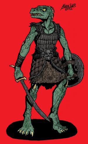 Draak harg mercenary by shabazik-d5jhyrs
