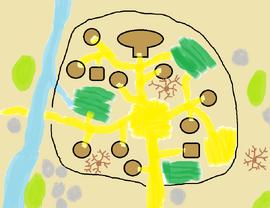 Gnoll village by damenster-da2f5wv