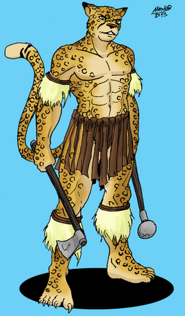 Chui watu loranor warrior by shabazik-d5yj709
