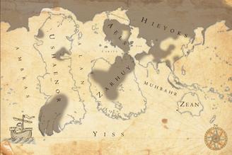 Map - Maximal extension Dark Legion