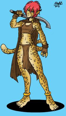 Loranor warrior by shabazik-d5tixum