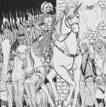 Triumphal entry by shabazik-d7gj5ih
