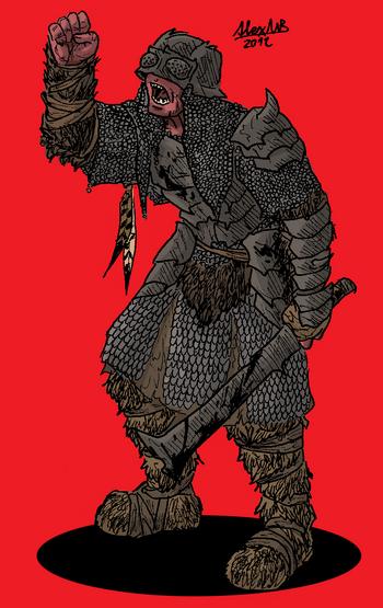 Orc Brûmer soldier