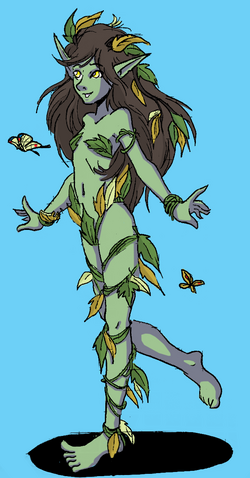 Dryad girl by shabazik-d5g44mq