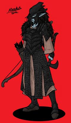 Asbaran hake archer by shabazik-d5nfat2